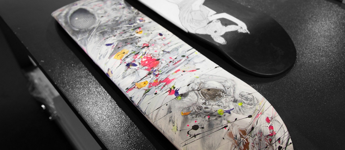 In The Studio: Our Art Deck-O Collection