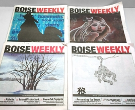 Did You Know: Evermore digitizes originals for the Boise Weekly covers?